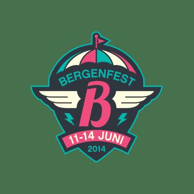 Bergenfest 2014 Logo Design