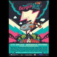Bergenfest Poster 2013 Illustration Design