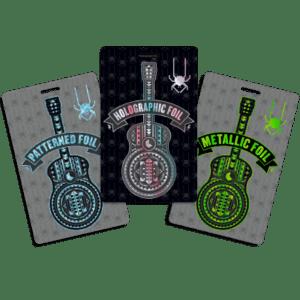 Custom Foiled Credentials