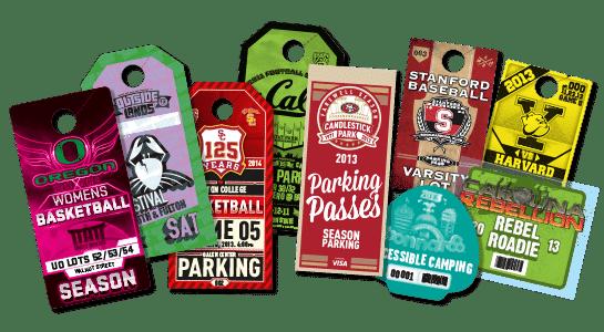 Custom Parking Passes Credentials