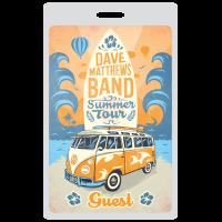 Dave Matthews Summer Tour Illustration Design