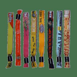 Custom Lee Wristbands