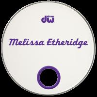 Melissa Etheridge Custom Drumhead
