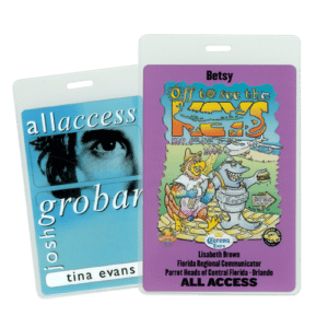 Personalized Passes & Credentials