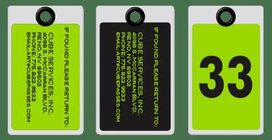 Standard Lug Tags